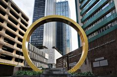 Golden Ring, Thanks-Giving Square Park, Chapel, and Museum, Dallas, Texas