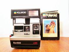 {vintage working Polaroid Sun 600 LMS} instant love