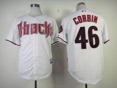 91145b5c7 Diamondbacks  46 Patrick Corbin White Cool Base Stitched MLB Jersey Paul  Goldschmidt