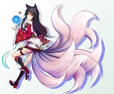 Ahri - League of Legends | Alienware Arena