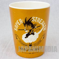 Dragon Ball Z Gokou Boy Melamine Cup JAPAN ANIME MANGA #Skater