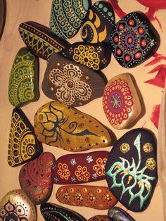 Painted Lake Champlain Stone Magnets