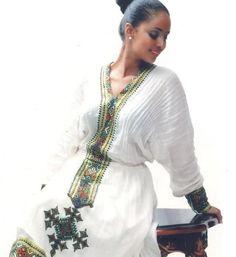 Ethiopian Traditional DressEthiopian clothing   Eritrean clothes   Habesha dresses