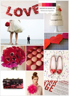 Valentine Sparkle } Aisle Candy Inspiration Board 002 (V2)