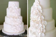 wedding cake - Katie Lewis Photography
