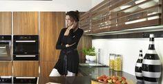 Kuchyňa Sykora Americký orech Modern, Kitchen, House, Trendy Tree, Cooking, Home, Kitchens, Cuisine, Homes