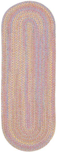 Playtime PT08 Pink Multi Braided Rug