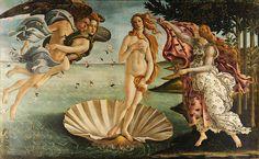 The Birth of Venus Botticelli | hide caption Even in Sandro Botticelli's painting The Birth of Venus ...