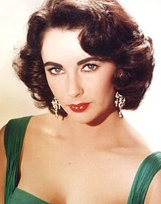Elizabeth Taylor--one of the rare people in this word with violet eyes