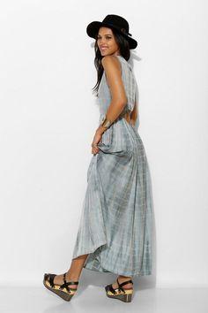 Neuw Lotus Tie-Dye Maxi Dress