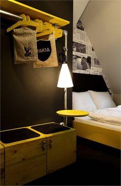 Superbude St Pauli Hotel - Amburgo, Germania - 2012 - Dreimeta #bedroom #design #colors #architecture