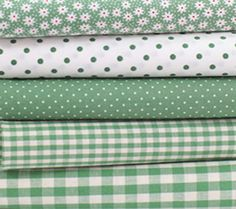 Japanese fabric bundle Sewing Hacks, Sewing Projects, Fabric Combinations, Sewing Studio, Japanese Fabric, Fabulous Fabrics, Fabric Shop, Green Fabric, Fabric Samples