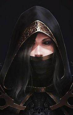Ekerina Ivanovith, natural de Athankis,  assassina imperial da Feiticeira do Gelo. 40a Turma de Casimyr.