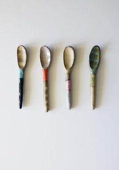 Vuela: Design and Accessories | SHINO TAKEDA Ceramic Spoon