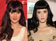 "10 Celebrities Who Look Exactly Alike - Suggest.com.  Zooey Deschanel and Katy Perry.  Katy Perry and Zooey Deschanel are probably the quirkiest celeb look-alikes in Hollywood. The ""New Girl"" star has dabbled in the music game, so we think it's about time that she record a duet with the ""Roar"" diva."