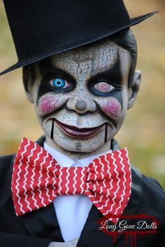 Sinister Ventriloquist Doll