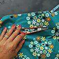 Le casse-tête de la poche zippée (tuto inside) - Au tableau !