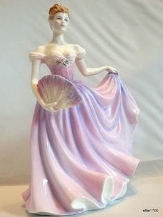 Discontinued Royal Doulton Figurines | Discontinued ROYAL DOULTON Figurine of the Year 2000 RACHEL HN3976 COA ...