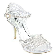 Aarz Frauen-Dame-Abend-Party-Hochzeit Prom High Heel Diamante Braut Sandelholz-Schuh-Größe (Gold, Silber, Schwarz, Champagner) - http://on-line-kaufen.de/aarz-london/41-eu-aarz-frauen-dame-abend-party-hochzeit-prom-8