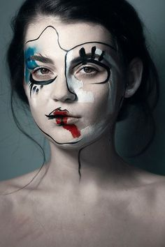 Fotograf: ViolaNagy Make-up Fotos: Bianca Raffaela Model: Robyn O'Brian . - make up modelle Portrait, Face Art, Face Painting, Photography
