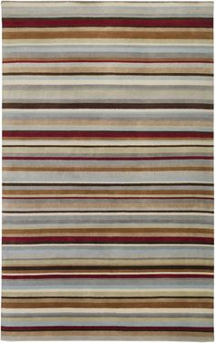Featuring overall interlocking motif in rich hues and contemporary stripes, the Dimension Collection has both an Old World feel and a 21st Century sensibility. Hand knotted in India from 100% wool, these rugs have a luxurious feel and a regal...