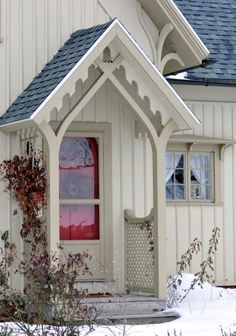 """carpenter gothic"" house - Google Search"