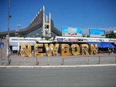 NEWBORN in Pristina, Kosovo