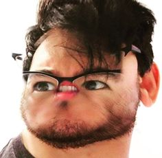 """You makin' fun of my tiny mouth?!? Huh?!?"" -Markiplier, 2014"
