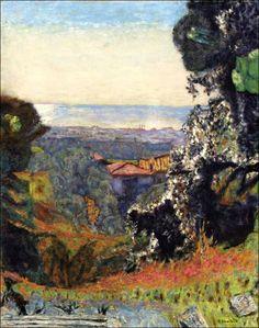 Pierre Bonnard (1867-1947) Paysage classique