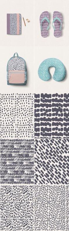 Brush Strokes Pattern Collection  -  https://www.designcuts.com/product/brush-strokes-pattern-collection/