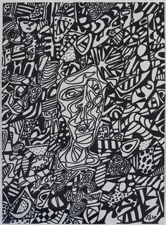 Jean Dubuffet - From Excursions en no man's space @ Pace