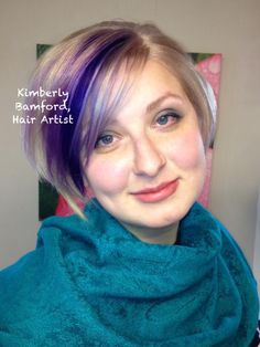 vivids purple platinim purplehair haircolor newburyporthair newburyport