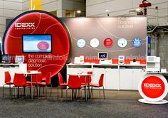Great #design.  #headturning.  Simple #tradeshow #fascade.