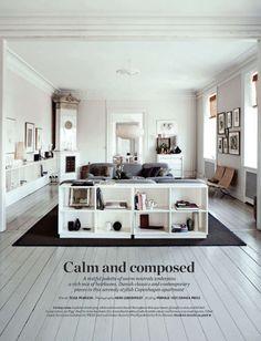 bliss blog--my happy place::  home courtesy of elle decor uk   photos: Heidi Lerkenfeldt