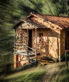 House.... - Ibitipoca, Minas Gerais, Brazil South America All Over The World, Cabin, House Styles, Places, Digital Art, Houses, Photos, Home Decor, Minas Gerais