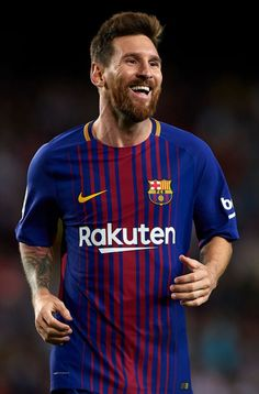 Lionel Messi Photos - Lionel Messi of Barcelona celebrates scoring his team's third goal during the La Liga match between Barcelona and Espanyol at Camp Nou on September 2017 in Barcelona, Spain. - Barcelona v Espanyol - La Liga Messi 10, Messi Y Ronaldo, Messi News, Neymar, Cristiano Vs Messi, God Of Football, Best Football Players, Soccer Players, Real Madrid Atletico