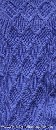 Le pull « Ile d'Ouessant » de la taille XS à L Fleur de coton « Marina » #ladroguerie