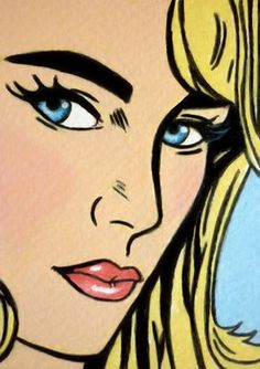 48 ideas pop art painting faces portraits roy lichtenstein for 2019 Roy Lichtenstein, Comic Kunst, Comic Art, Portraits Pop Art, Cuadros Pop Art, Illustration Pop Art, Pop Art Vintage, Retro Kunst, Pop Art Decor