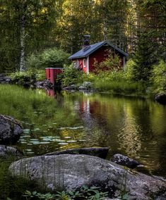 Asko Kuittinen How To Take Photos, Great Photos, Cool Pictures, Red Cottage, Countryside, The Good Place, Beach House, Beautiful Places, Exterior