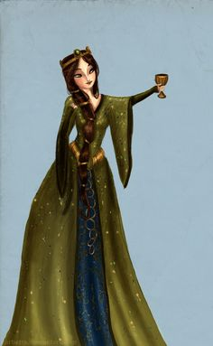 Young Elinor by *Arbetta on deviantART