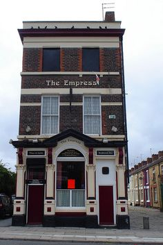 The Empress, Liverpool, England. Ringo lived on the street to the right!