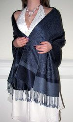 Just Navy Designer Bridal Bridesmaid Pashmina $24.99 affordable beautiful women's shawl wrap on sale.