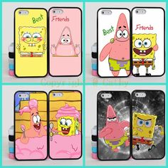 SpongeBob and Patrick Best Friends Forever Case For Apple iPhone BFF Case Cover For iPhone 4 Phone Bff Iphone Cases, Bff Cases, Funny Phone Cases, Iphone Cases Disney, Cute Cases, Diy Phone Case, Iphone Case Covers, Phone Cover, Phone Cases Iphone6