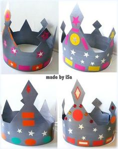 Couronnes Rois - made by iSa