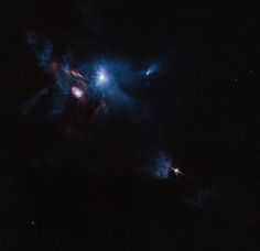 The NASA/ESA Hubble Space Telescope has snapped a striking view of a multiple star system called XZ Tauri, its neighbor HL Tauri, and several nearby young stellar objects. XZ Tauri is blowing a hot bubble of gas into the surrounding space, which is filled with bright and beautiful clumps that are emitting strong winds and jets. These objects illuminate the region, creating a truly dramatic scene.