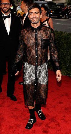 Met Ball Gallery: Metropolitan Museum of Art's 2012 Costume Institute Gala, Marc Jacobs. Wow!