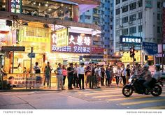 City life in Hong Kong! Love this holiday trip on theprettyblog.com Photographer : Jack and Jane Photography  
