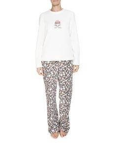Hearts Fleece Pyjamas | Woolworths.co.za