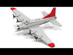 How To Build A Huge Lego WWII B-17 Flying Fortress - https://www.warhistoryonline.com/whotube-2/how-to-build-a-huge-lego-wwii-b17-flying-fortress.html