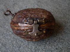 Forget hearts! I want a locket made from a walnut